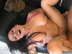 Busty brunette Gigi Love loves the big dicks. Gigi Love is a Spanish..