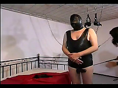 Slutty domina humiliating her