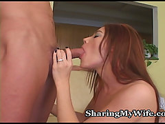Fiery Redhead Wifey With Nice Tits. SharingMyWife.com is an amazing ..