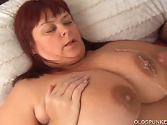 Beautiful busty mature BBW
