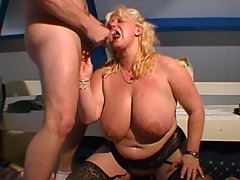 Huge Chantal having fun