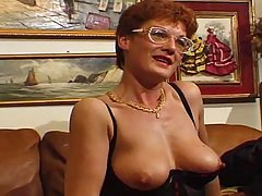 French Jabbawockee Jam. French mature lady gets some time in with th..