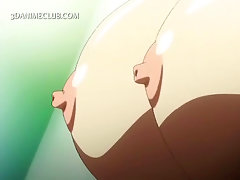 Sexy hentai fairy gets huge tits licked and fucked