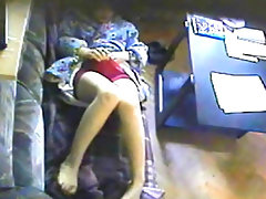 Hidden cam  Yana  Mandatory daily work 2