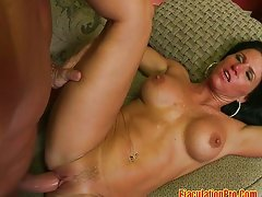 Big ass MILF suck cock and fuck