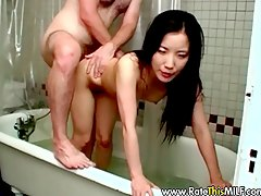 husband dick, asian, stripper, amateur, interracial, bathing, milf