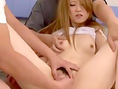 sweet 3some, asian, threesome, teen