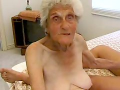 Genuine granny fucked while wearing stockings
