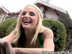 Cute punk chick faye runaway get the interracial