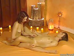 Relaxed and erotic lingam experience