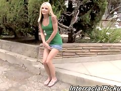 Lovely blonde pickup babe faye runaway
