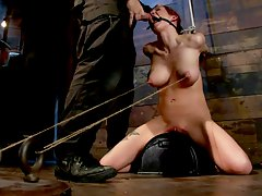 nipple torture and more for a hot babe Rain